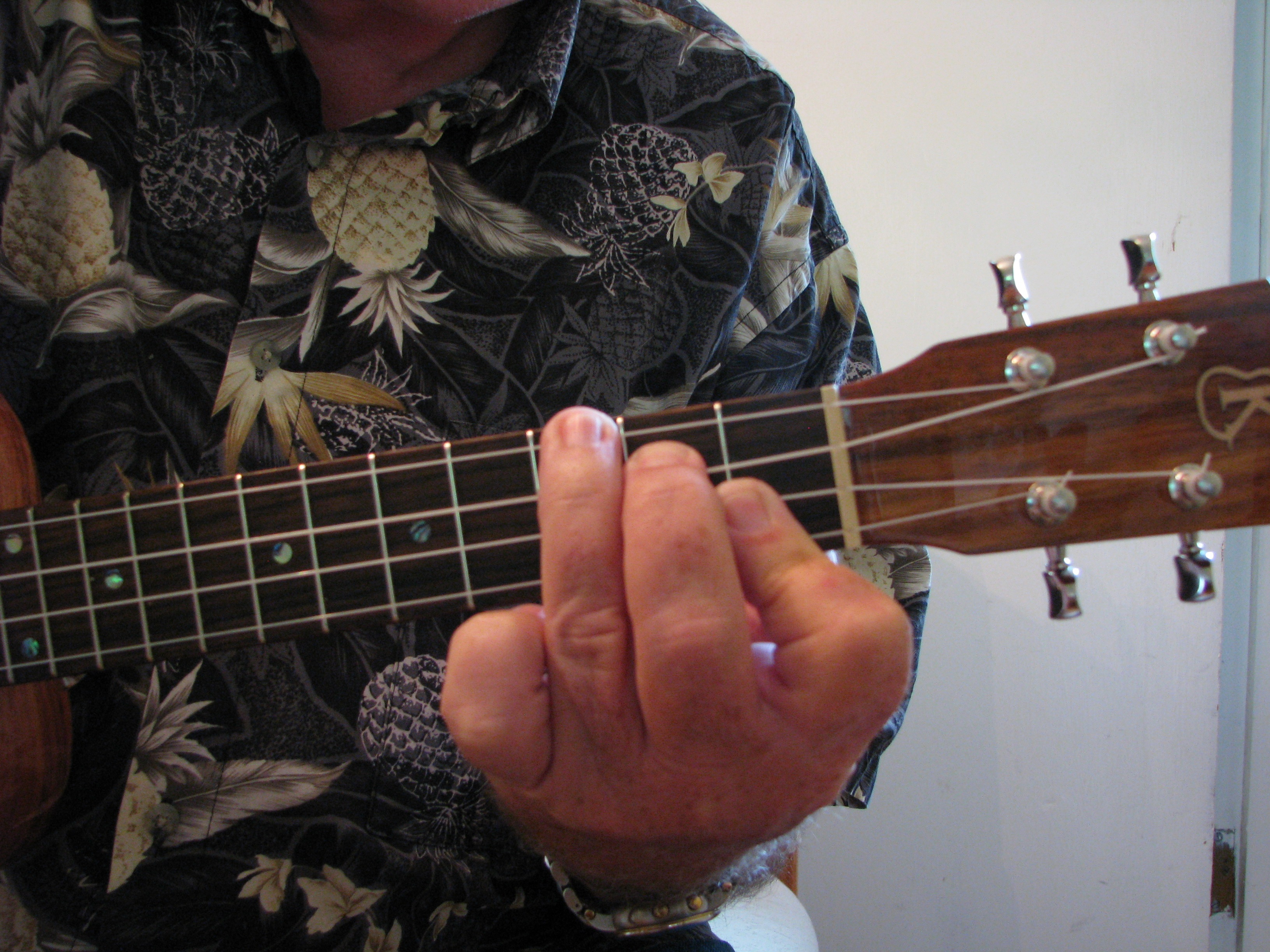 Bb Chord Proper Hand And Finger Position Ukulele Mike Lynch All