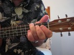 Bb Chord: IMPROPER hand and fingerposition
