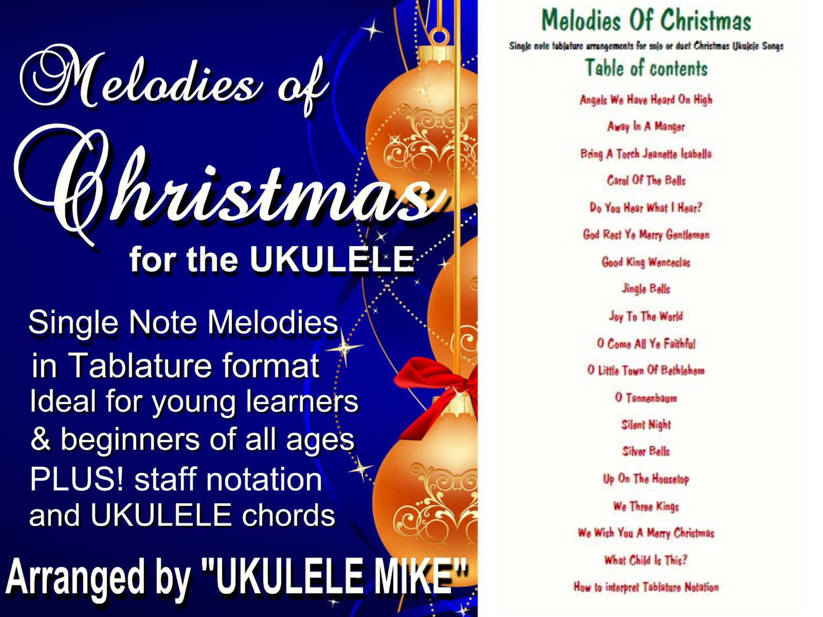 classic standards of christmas now available in single note arrangements melodies of christmas perfect for newbie tablature players melodies of - Christmas Songs Classic