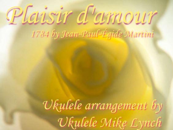 Plaisir Title Slide