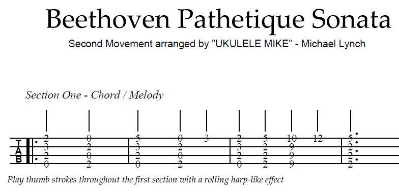 beethoven pathetique 2nd movement pdf