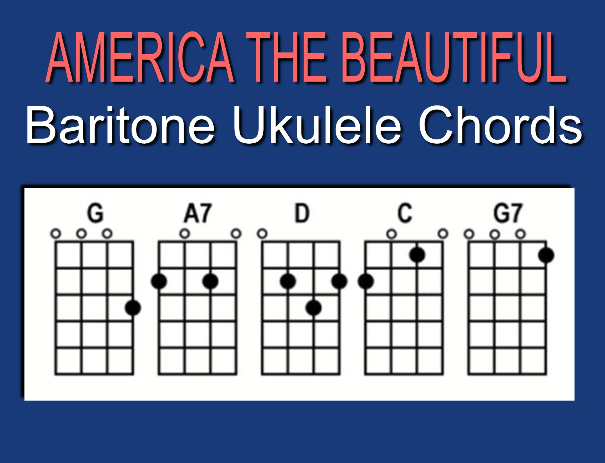 u201cAMERICA THE BEAUTIFULu201d u2013 A Special Veterans Day Offering from Ukulele Mike Lynch : UKULELE MIKE ...