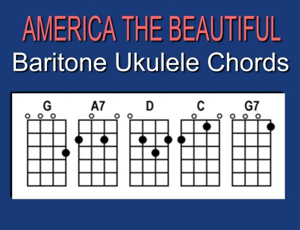 America Baritone Chords slide