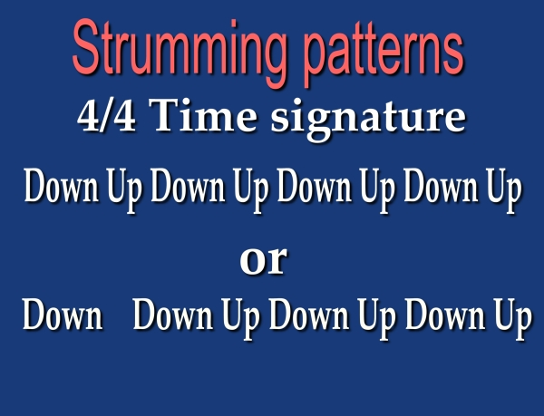 Strum Patterns
