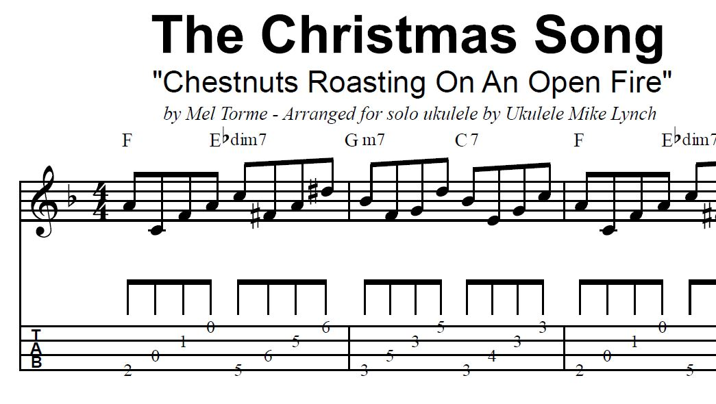 Chestnuts Roasting On An Open Fire By Mel Torme Bob Wells Solo