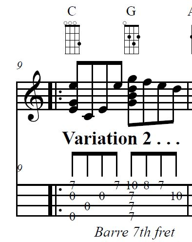 Music 2 High G chord inversion