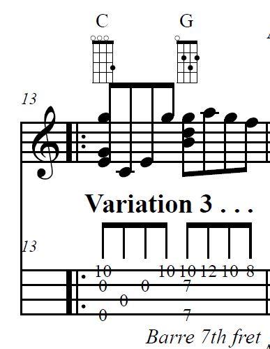 """The """"PACHELBEL CANON"""" arranged for solo ukulele by Ukulele Mike ..."""