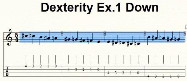 Dex 1 Down