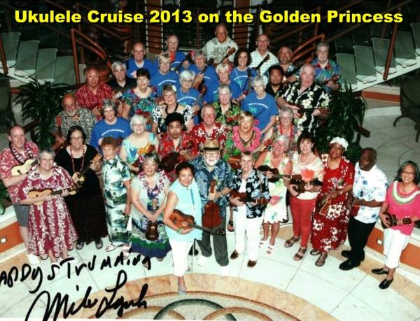 2013 Class Ukulele Cruise