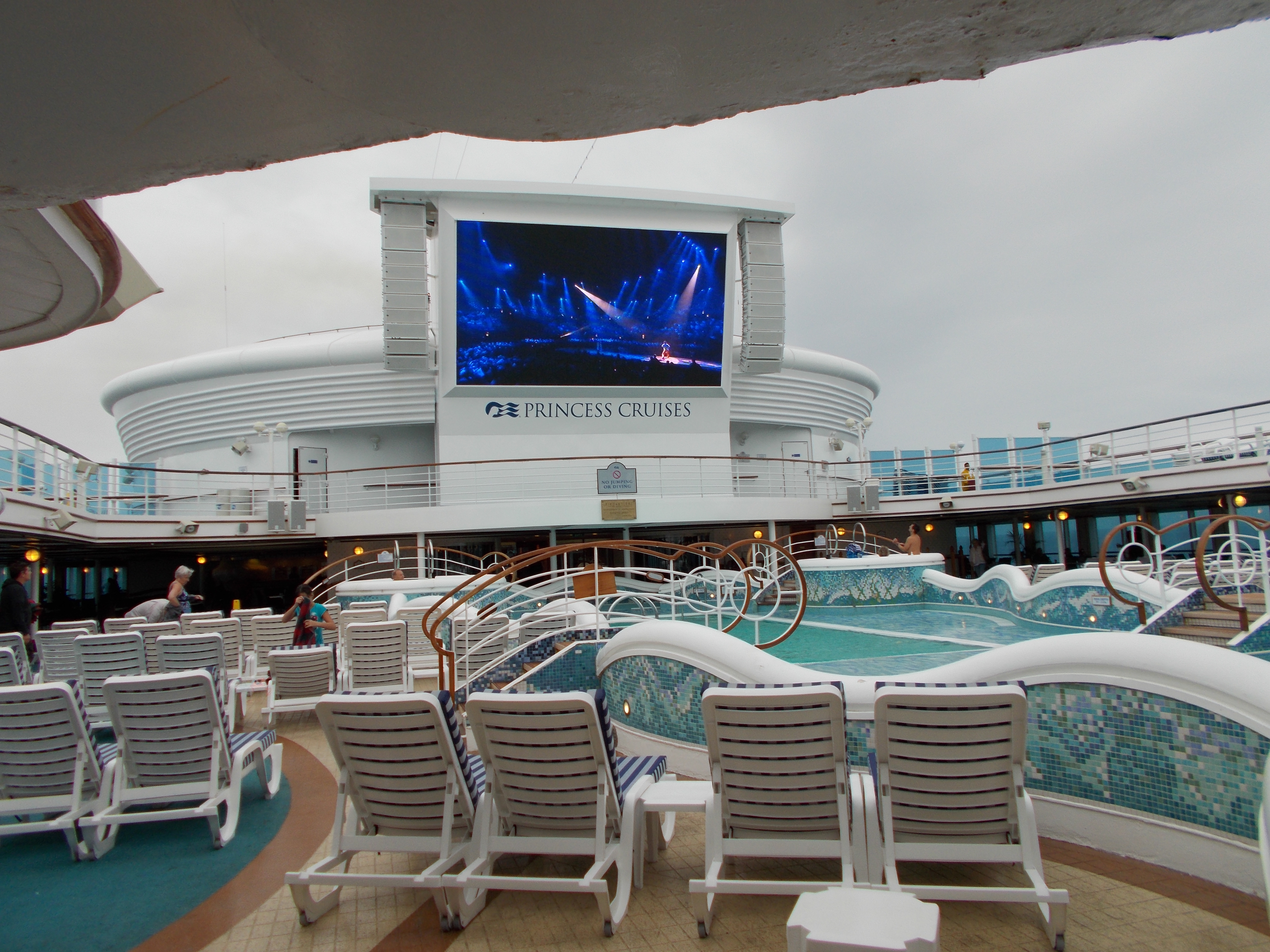 WE'RE GOING BACK TO HAWAII ON THE GRAND PRINCESS CRUISE