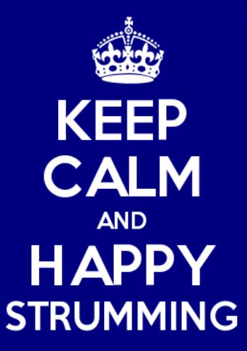 Keep Calm Blue