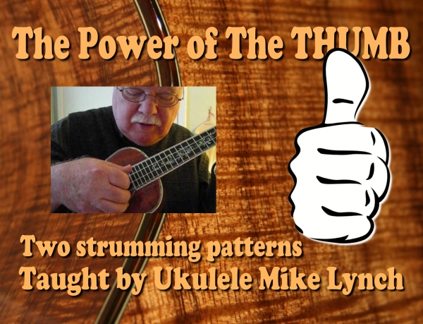 power of the thumb title slide