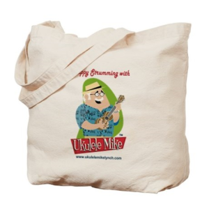 Ukulele Mike Lynch Tote Bag