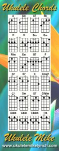 Blue Bookmark Chord Sheet