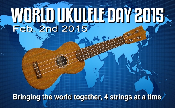 World Ukulele Day 2015 Promo Poster
