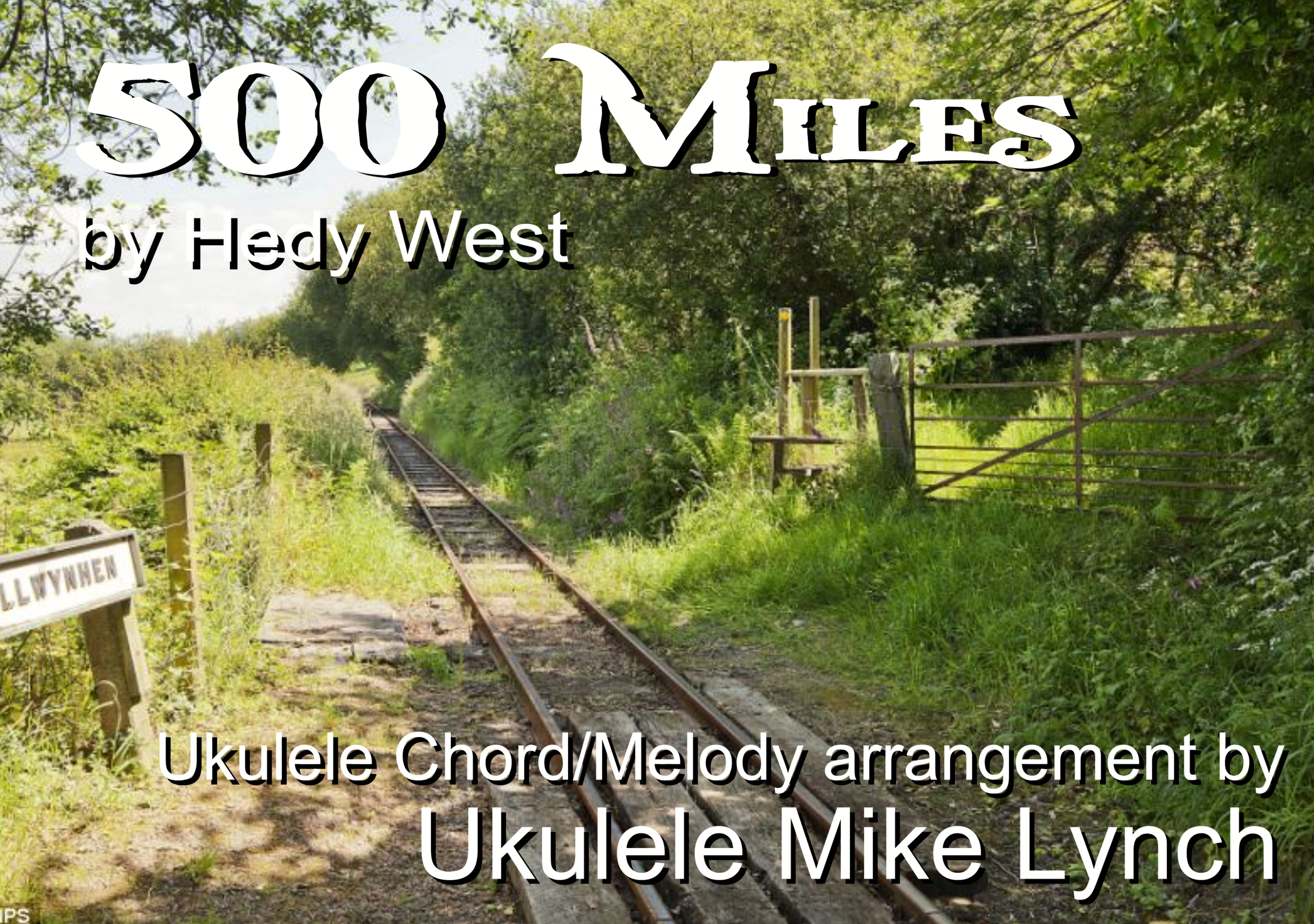 One Of The Most Iconic American Folksongs 500 Miles Now Arranged
