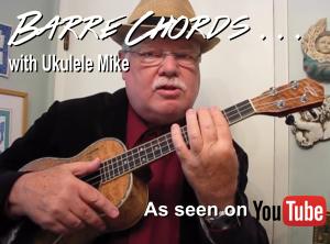 Barre chord  log banner