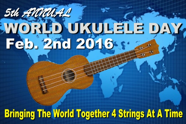 5th Annual World Ukulele Day Poster