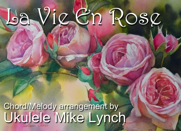 La Vie En Rose Blog header