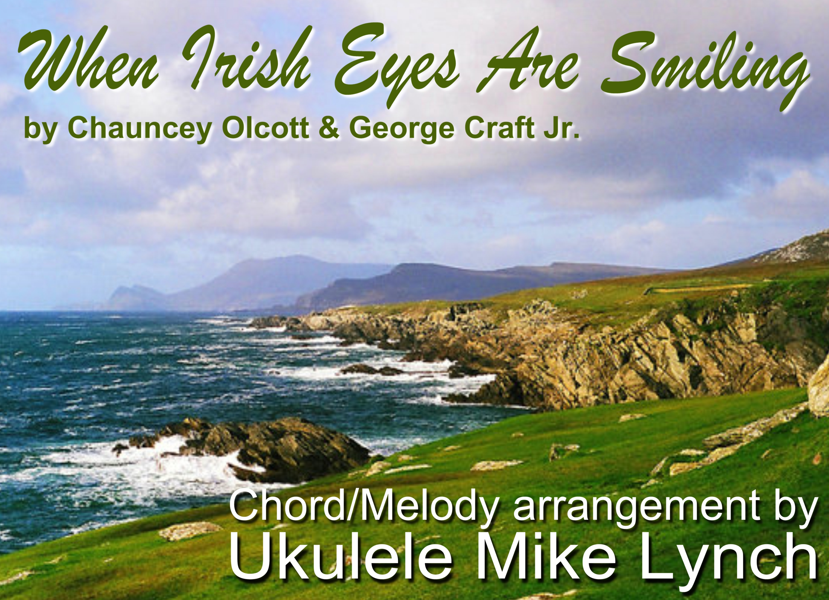 When Irish Eyes Are Smiling By Chauncey Olcott And George Graff