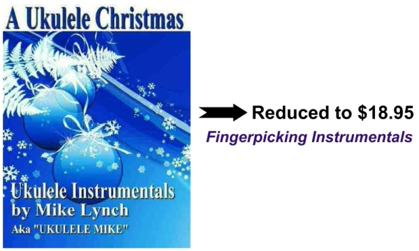 a ukulele christmas fingerpicking