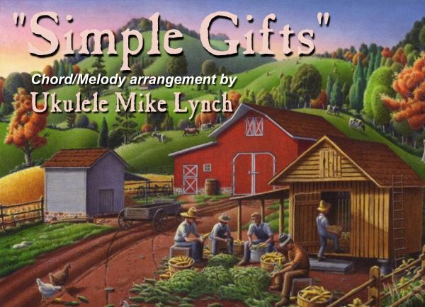 Simple gifts chord mel blog header