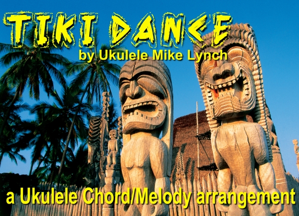 Tiki Dance blog header