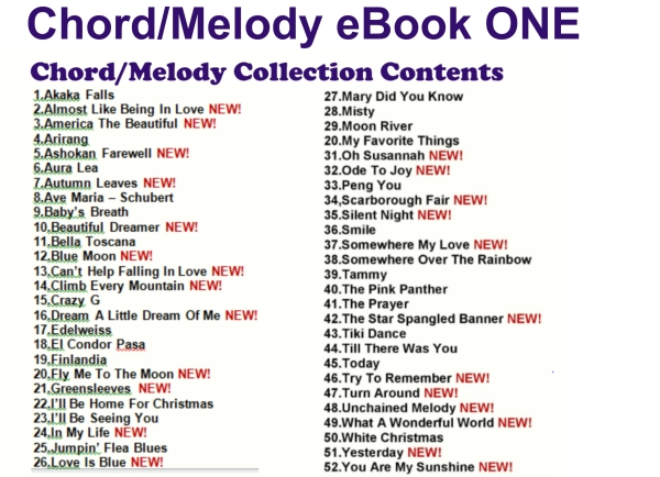 ebook one Contents image