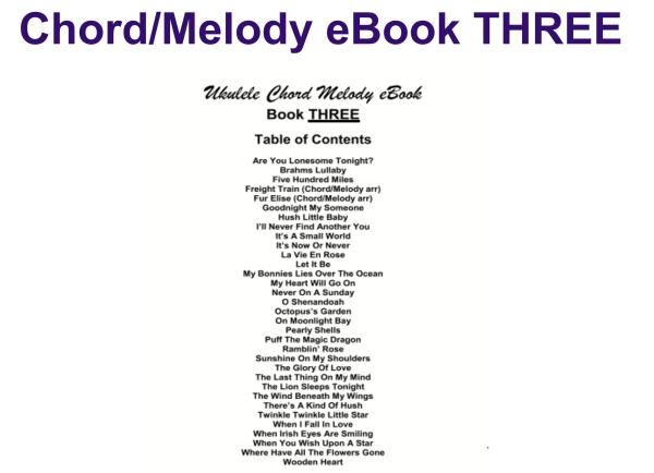 ebook THREE contents image