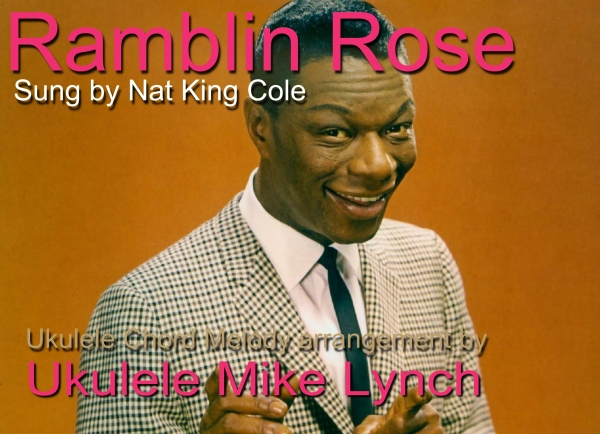 Ramblin rose blog header